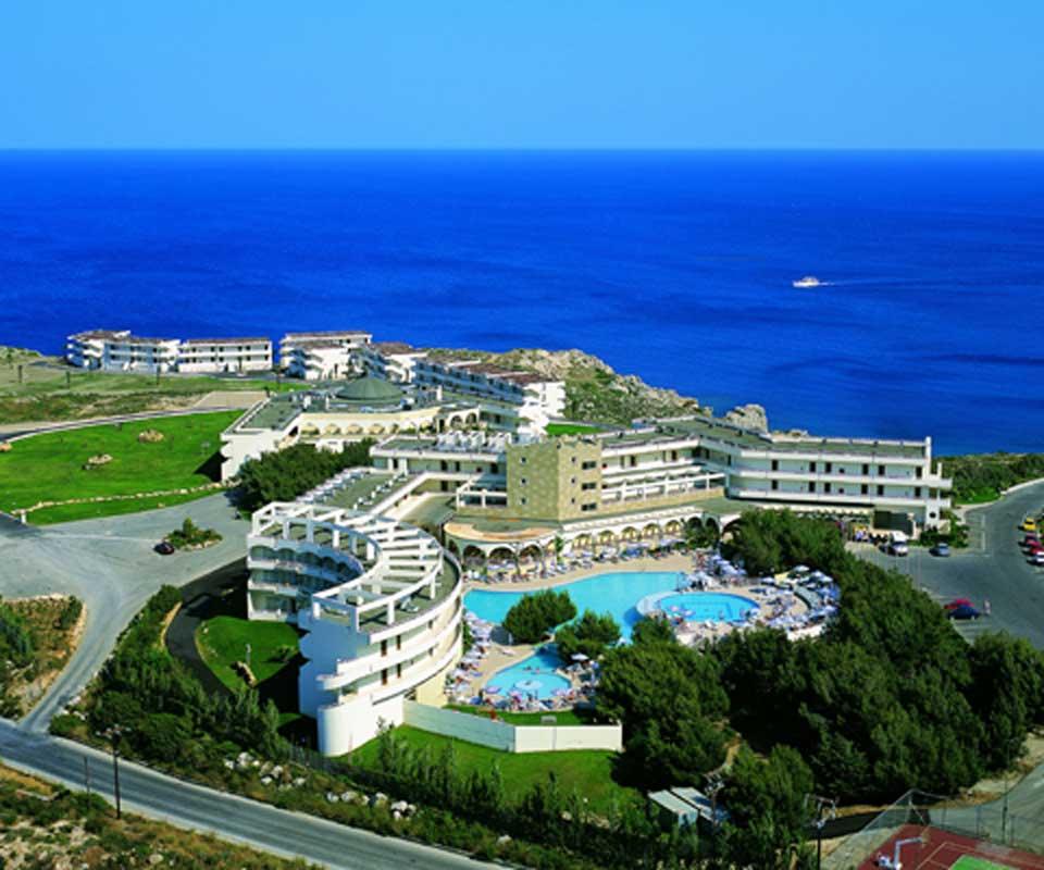 Отельный комплекс курорта Калифея острова Родос