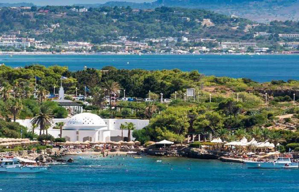 Термы на курорте Калифея на острове Родос