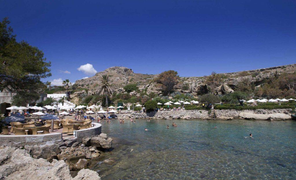 Термы курорта Калифея на острове Родос