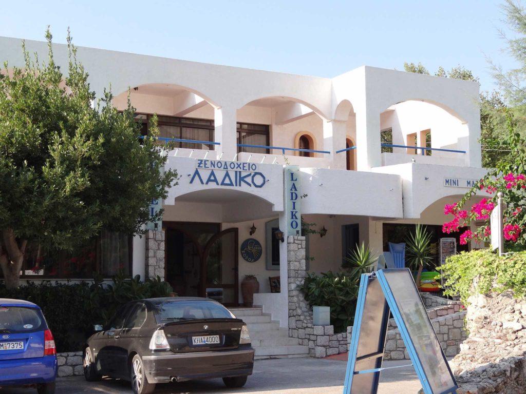 Один из отелей курорта Ладико