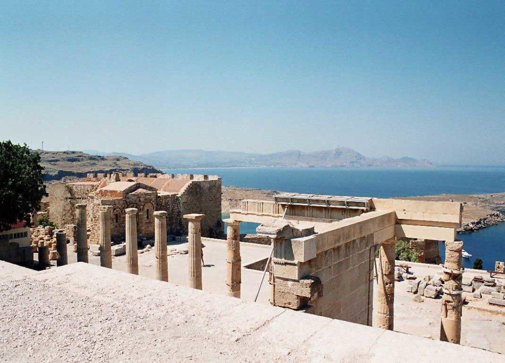 Акрополь в Линдосе остров Родос