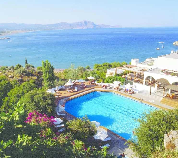 Lindos Mare Resort - отель в Линдосе