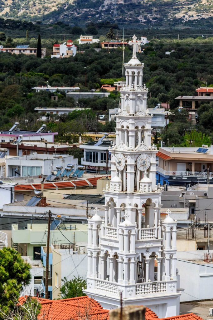 Второй по величине город острова Родос - Архангелос
