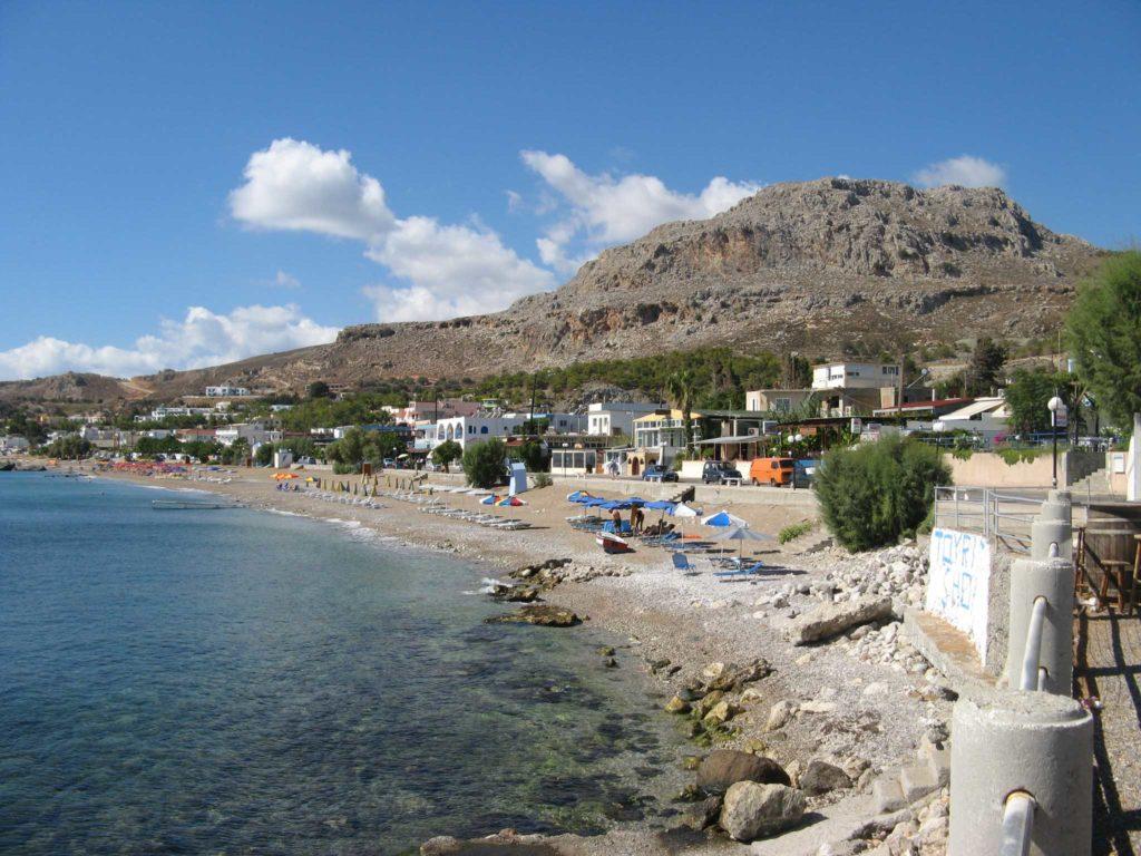 Курорт Стегна на острове Родос