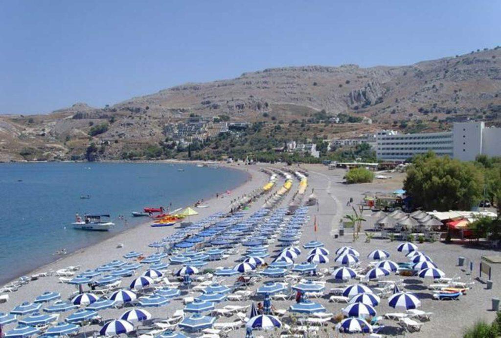Станция водных развлечений пляжа