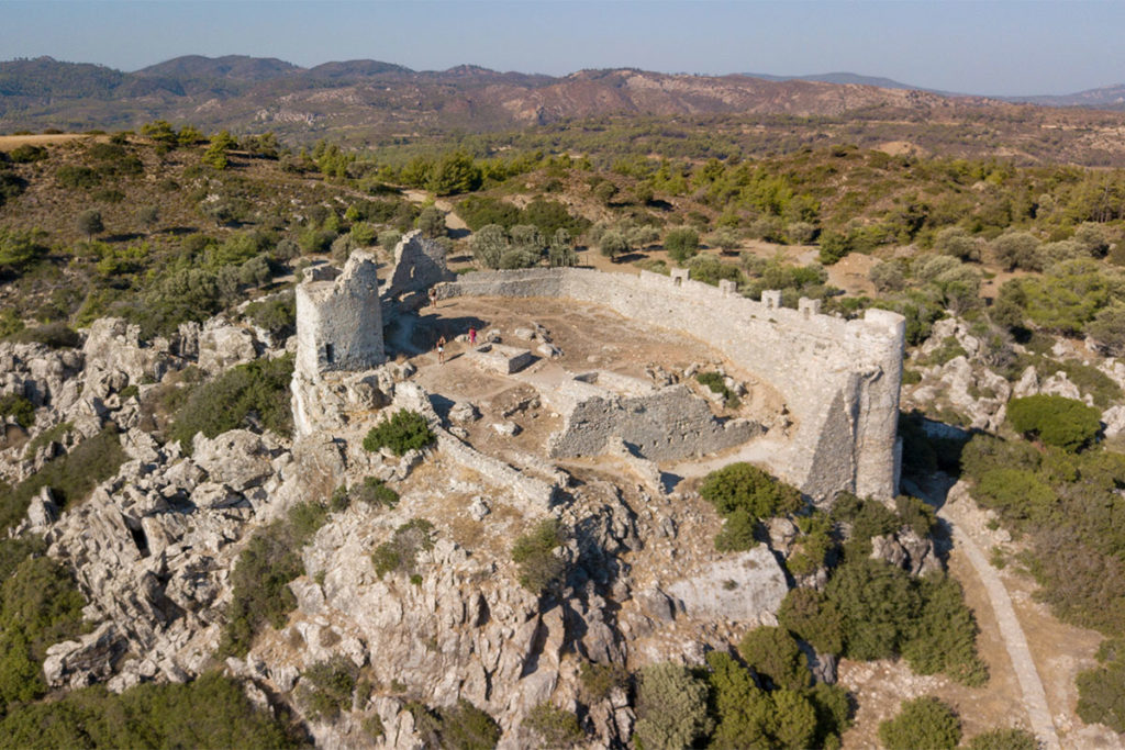 Замок Асклипио на остров Родос