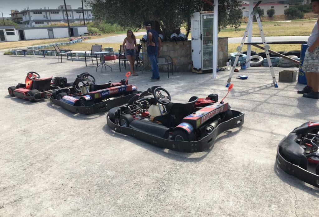 Картинг центр Kartodrome Rodos в Фалираки