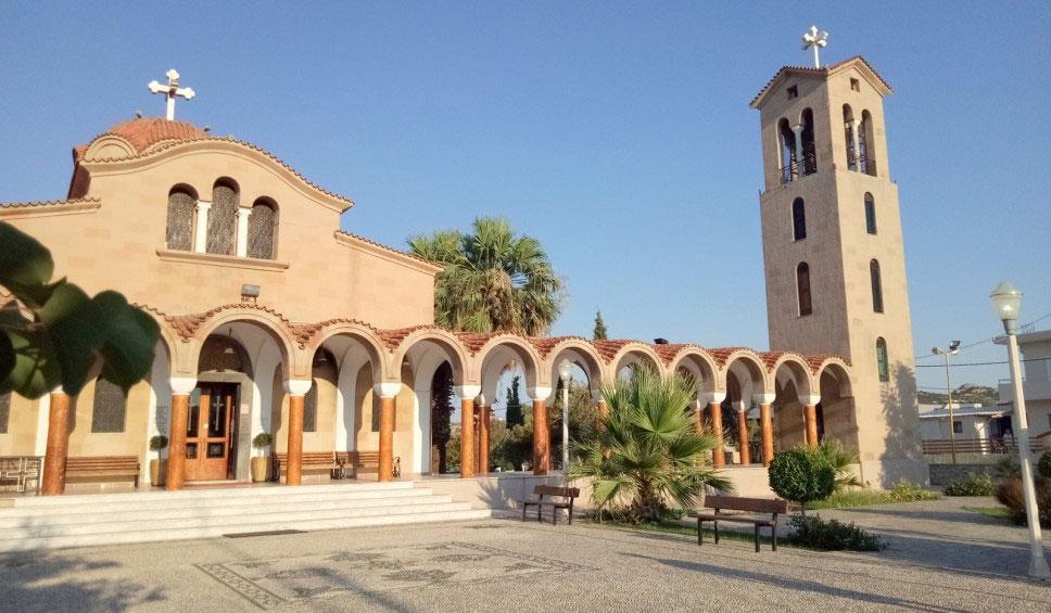 Церковь Святого Нектария в поселке Фалираки