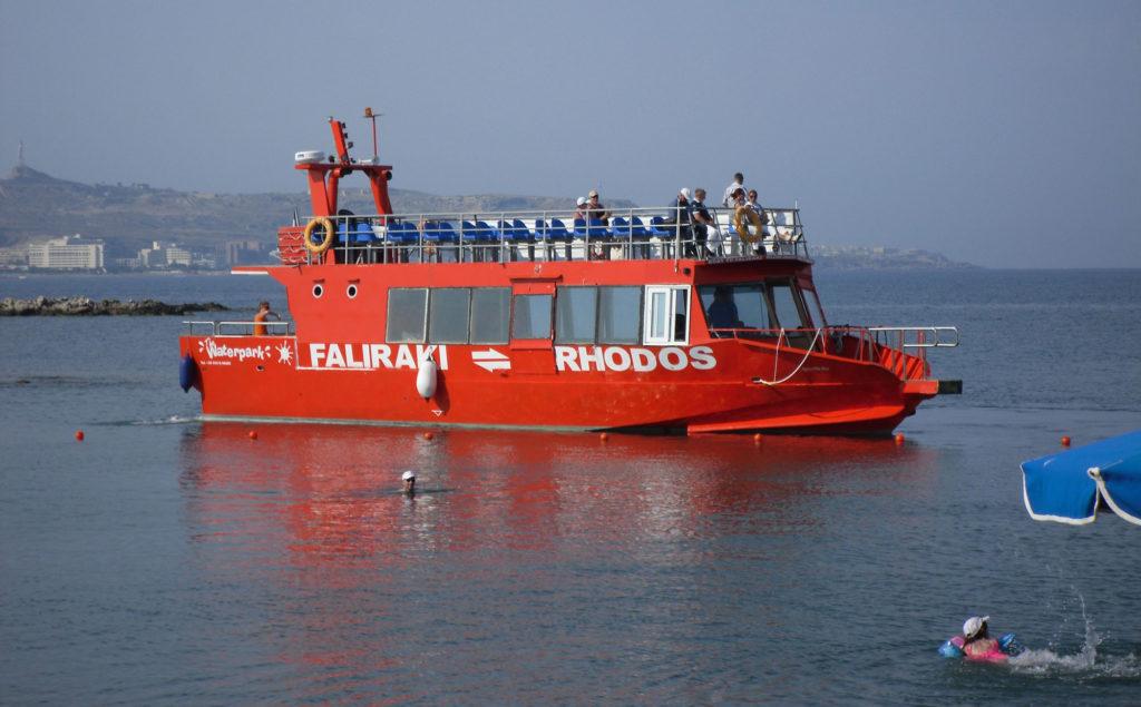 Морская маршрутка Фалираки-Родос