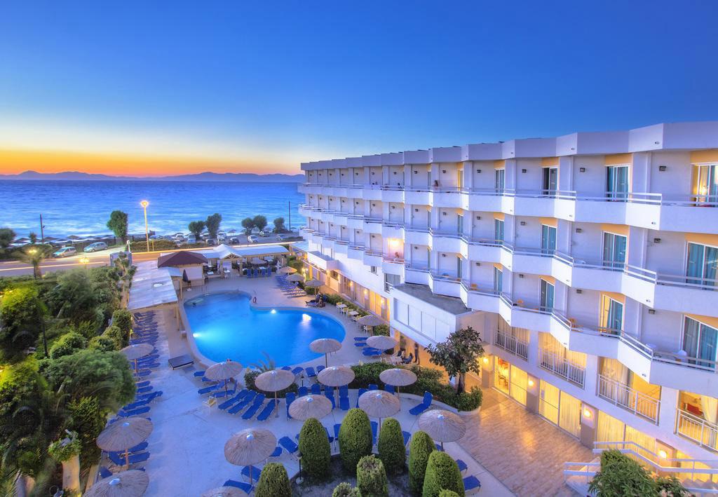 Трехзвездочный отель Lito Hotel на Родосе