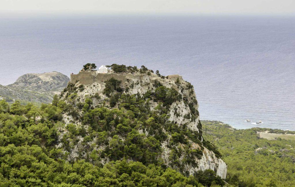 Замок Монолитос на острове Родос
