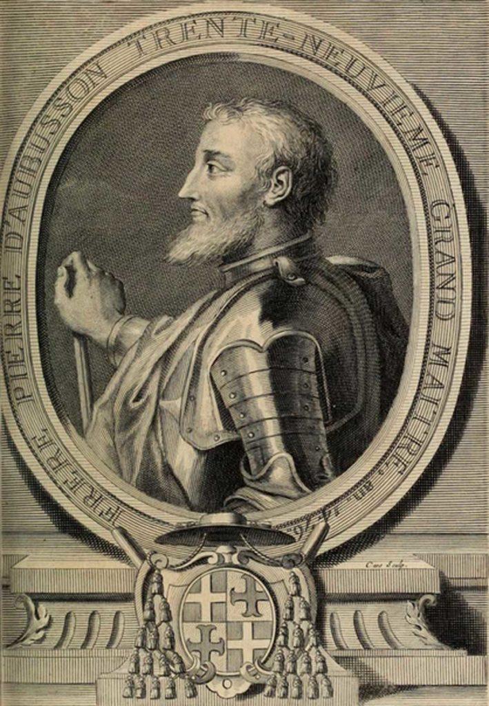 Великий Магистра де Обюссон строитель замка Монолитос
