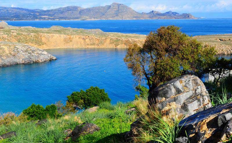 Лето на острове Родос
