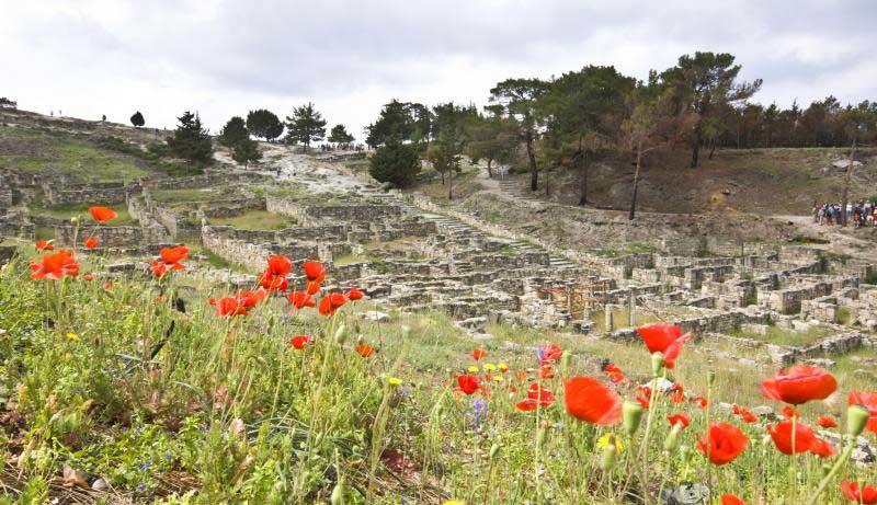 Весна в древнем городе Камирос