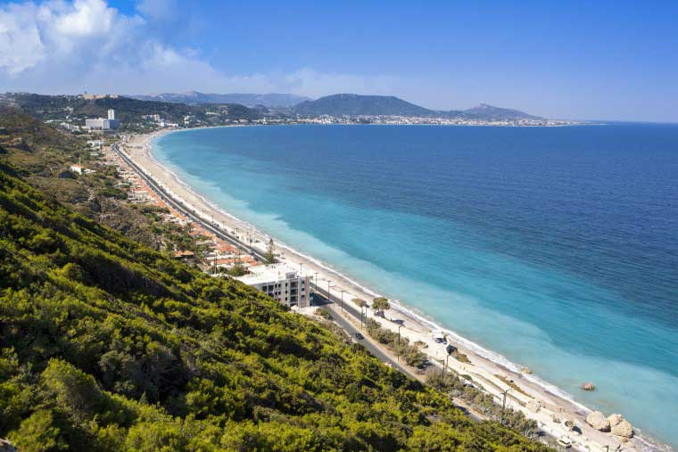Апрель на Эгейском побережье острова Родос