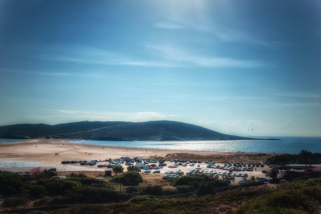 Кемпинг на пляже Прасониси на острове Родос
