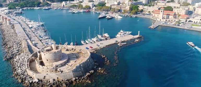 Родос остров в Греции