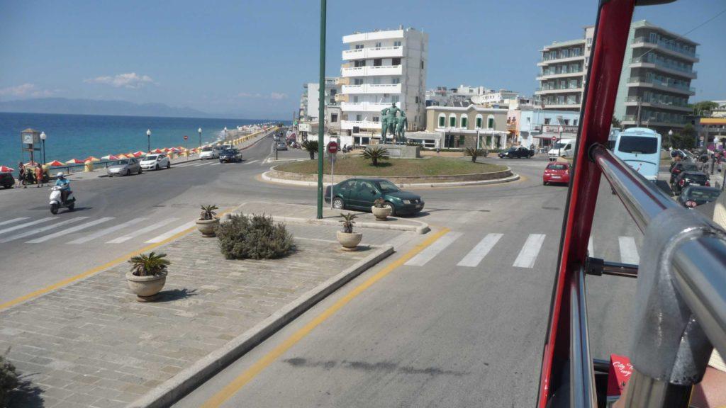 Побережье Эгейского моря. Статуя Диагораса