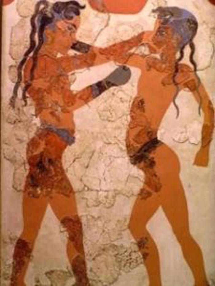 Древнегреческий кулачный бой