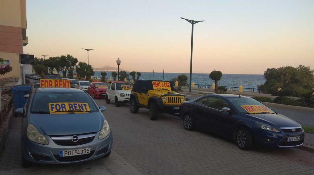 Аренда машины для экскурсии на острове Родос